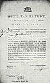 Acte van patent Kemper Gouda 1807.jpg