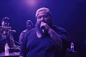 Action Bronson - Action Bronson performing in July 2013