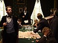 Actor with Diorama Figures in Replica White House - Abraham Lincoln Presidential Library & Museum - Springfield - Illinois - USA (32905789675).jpg