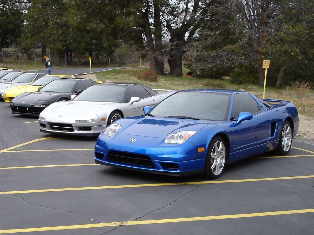 Honda NSX (first generation) - Wikipedia