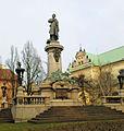 Adam Mickiewicz Monument in Warsaw - 02.jpg