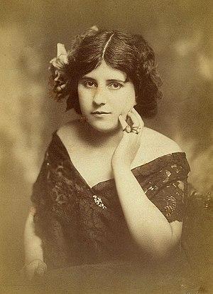 English: Adelina de Lara (1872–1961), British ...