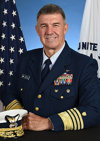Commandant of the Coast Guard - Image: Adm. Karl L. Schultz