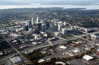 human settlement in Bellevue, Washington, United States of America