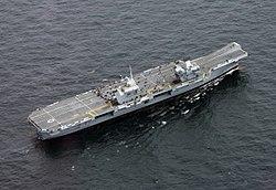 HMS Queen Elizabeth im August 2017