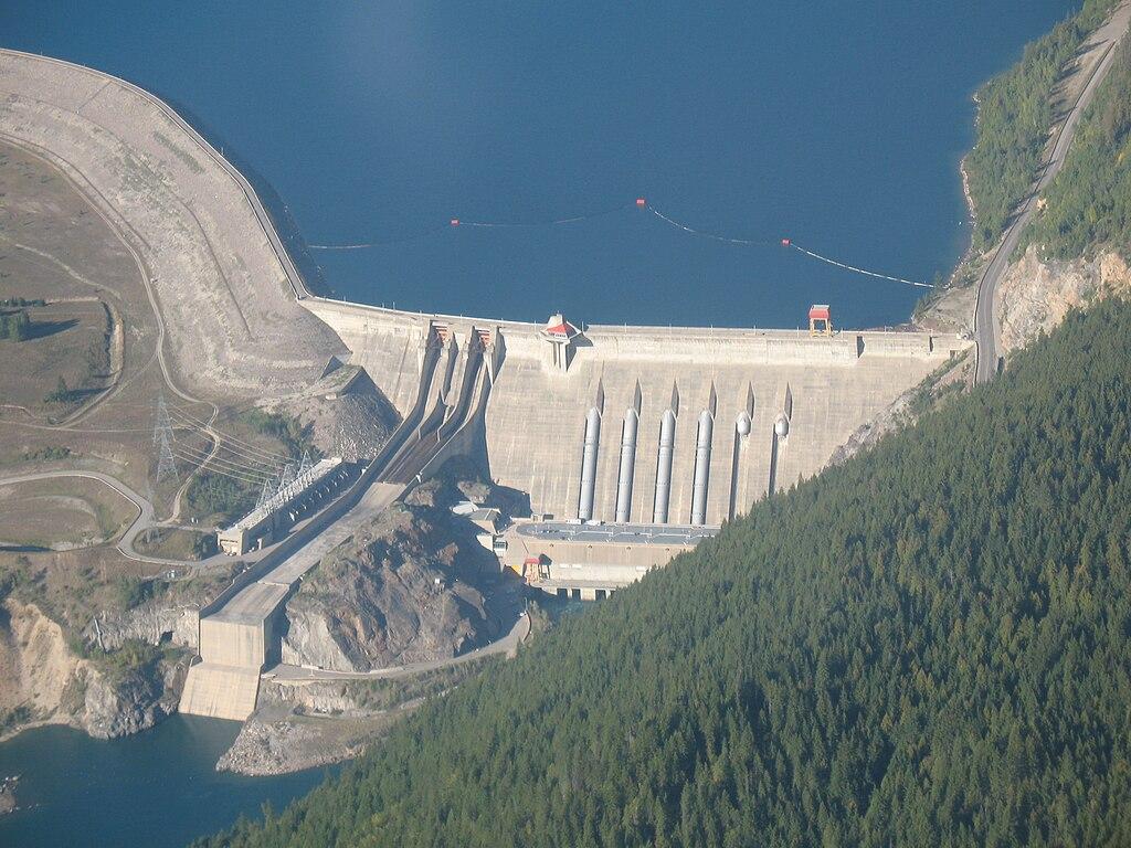 File Aeriel Picture  Revelstoke Dam Jpg
