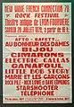 Affiche festival rock au théâtre antique de Fourvière en juillet 1978.jpg