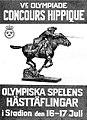 Affiche officielle du concours hippique des JO de 1908.jpg