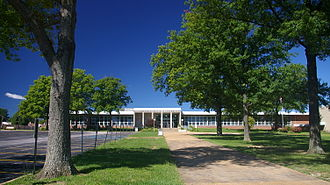 National Register of Historic Places listings in St. Louis County, Missouri - Image: Affton High School