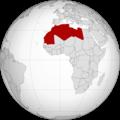 Afrique du nord Maroc Algerie Tunisie Libye Egypte.png