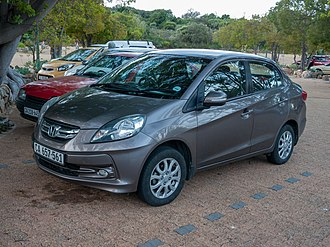 Honda Amaze - Honda Brio Amaze (pre-facelift, South Africa)