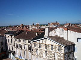 Historical center of Agen.
