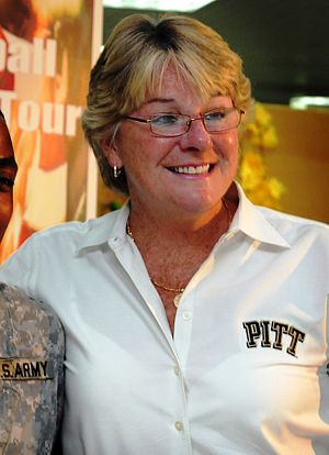 Pittsburgh Panthers women's basketball - Former head coach of the Pitt women's basketball team, Agnus Berenato