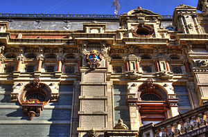 The Water Company Palace - Image: Aguas Corrientes detail TM