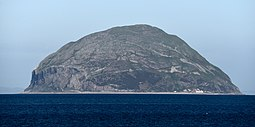 Ailsa Craig from the southeast