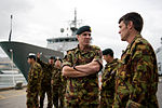 File:Air Vice Marshal Peter Stockwell and Chief of Army Tim Keating take an operational tour of Lyttelton.jpg