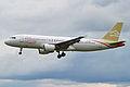 Airbus A320-212 TS-INN Libyan Airlines (10489099035).jpg