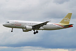 Airbus A320-200 der Libyan Airlines