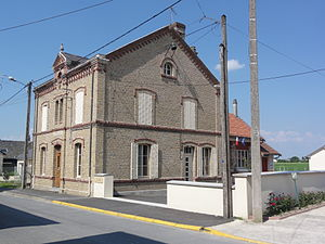 Aire, Ardennes - The Town Hall