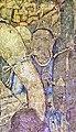 Ajanta Cave 1 Lady in blue dress with tiara.jpg