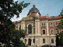 Akademia Ekonomiczna w Krakowie Main building 00.JPG