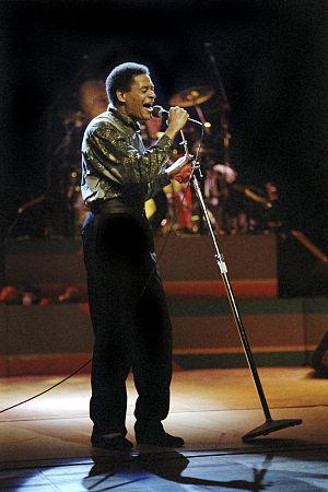 Al Jarreau - 1986: Jarreau in concert in Berlin.