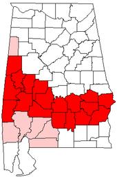 Black Belt Region Of Alabama  Wikipedia