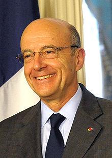 Alain Juppé en 2011, lors d'une visite diplomatique à Washington DC.