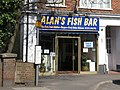 Alan's Fish Bar, Keymer Road - geograph.org.uk - 1804453.jpg