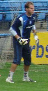 Alan Julian Association football goalkeeper