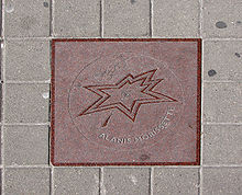 Alanis Morissette Star on Walk of Fame adjusted.jpg