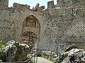 Alanya - Weg vom Hafen-Roten Turm zur Nordbastion per Fuß Vorfestungstor - panoramio.jpg