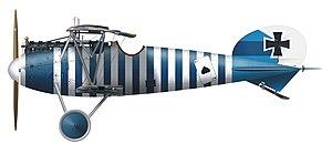 Hans Böhning - Albatros D.Va, Leutnant Böhning, Jasta 79
