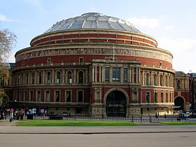 Pogled na Royal Albert Hall