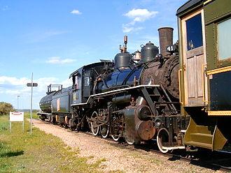 County of Stettler No. 6 - Alberta Prairie Railway, engine 41