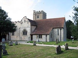 Aldingbourne Human settlement in England