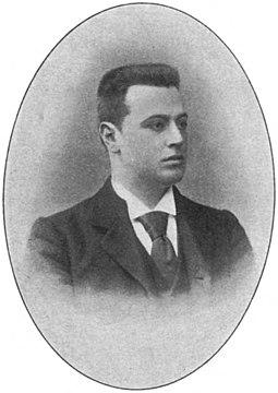 Alexander Faassen - Onze Tooneelspelers (1899)