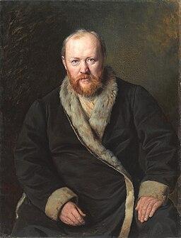 Alexander Ostrovsky by Vasily Perov