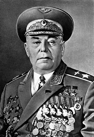 Alexander Pokryshkin - Marshal of the aviation A.I. Pokryshkin