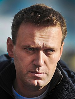 Alexei Navalny Russian politician and anti-corruption activist