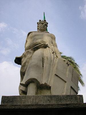 Siege of Algeciras (1342–44) - Statue of Alfonso XI of Castile in Algeciras