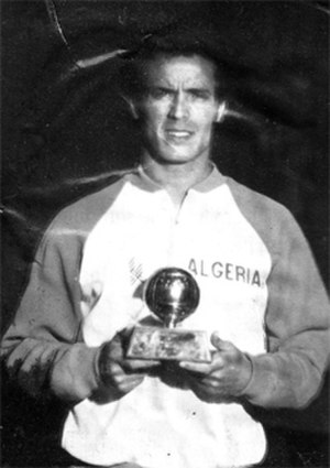 African Footballer of the Year - Lakhdar Belloumi, winner of the award in 1981.