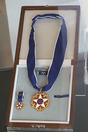 Muhammad Ali Center - Image: Ali Medal Of Freedom