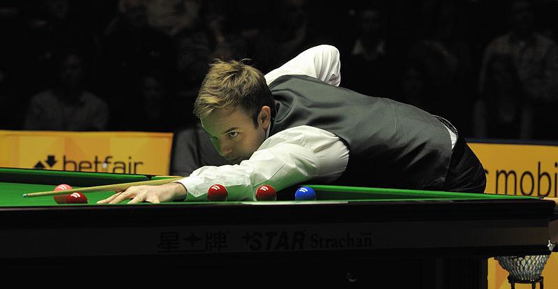File:Ali Carter at Snooker German Masters (DerHexer) 2013-02-02 14.jpg