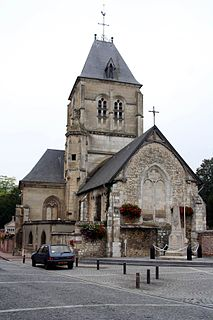 Alizay Commune in Normandy, France