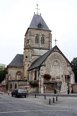 Alizay - Image: Alizay Église 01