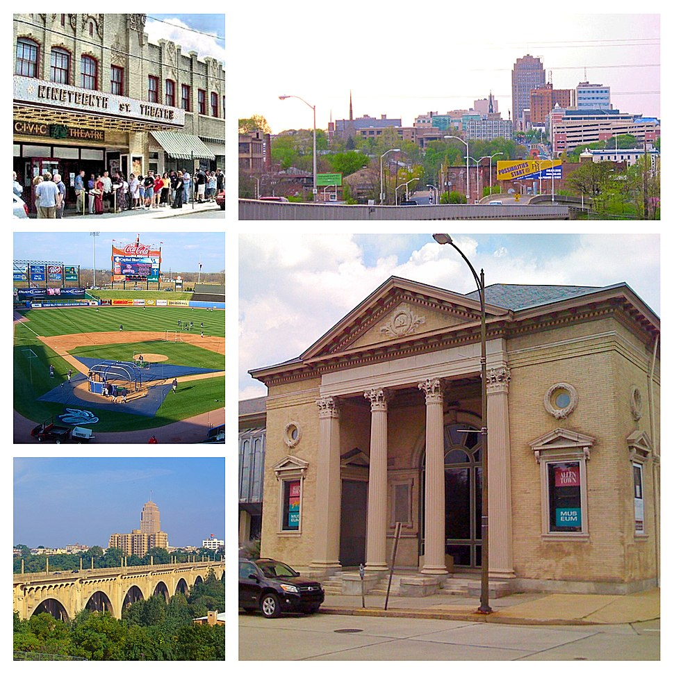 Allentown PA Photo Collage