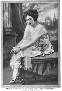 Alma Tell American actress