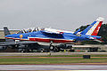 Alpha Jet Patrouille de France (3871126530).jpg