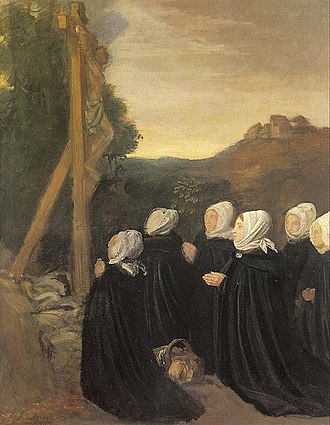 Alphonse Legros - A. Legros - The Calvary, Orsay